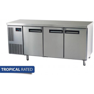 Skope Pegasus 3 Door Gastronorm Counter Freezer PG400