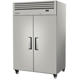 Skope ReFlex 2 Door Upright Freezer Stainless Steel 920Ltr