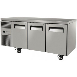 Skope ReFlex 3 Door Under Bench Freezer Stainless Steel 387Ltr