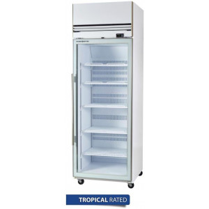 Skope Single Glass Door Upright Freezer 610Ltr