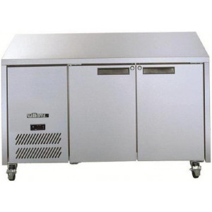 Williams Opal 2 Door Freezer LO2U Stainless Steel