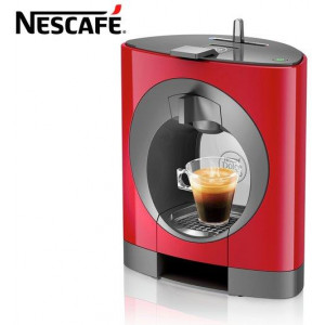 Nescaf Dolce Gusto Oblo Coffee Machine - Red