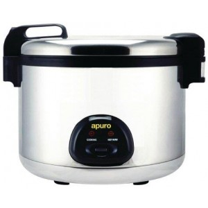 Apuro Large Rice Cooker 20Ltr - Silver