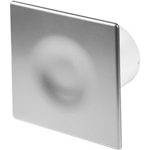 100mm Timer ORION Extractor Fan Satin ABS Front Panel Wall Ceiling Ventilation