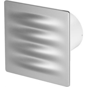 125mm Pull Cord VERTICO Extractor Fan Satin ABS Front Panel Wall Ceiling Ventilation