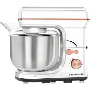 Smith & Nobel Stand Mixer White And Rose Gold