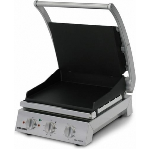 Roband Grill Station 6 slice, smooth non stick plates RB-GSA610ST Panini Presses & Sandwich Grills - Silver
