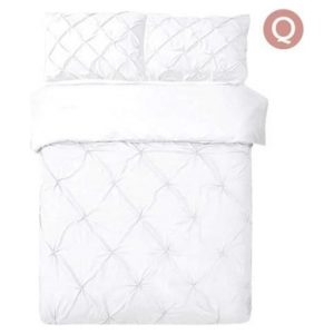 Queen 3-piece Quilt Cover Set White