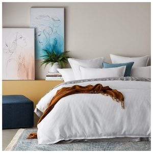 Home Republic Berlin Waffle White Quilt Cover Set By Adairs