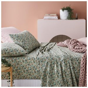 Home Republic Printed Sheet Set Sage Floral Sheet Set - Sagefloral By Adairs