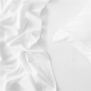 MyHouse Reyne Tencel King Single Bed Sheet Set White