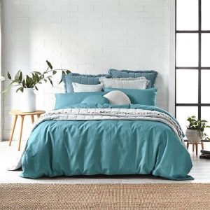 Alex Liddy Edit Quilt Cover Double Blue