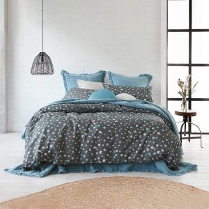 Alex Liddy Spot Print Quilt Cover Double