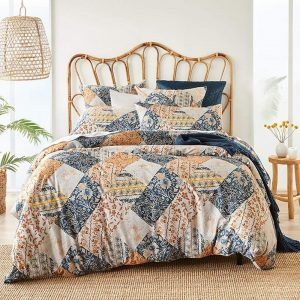MyHouse Eliza Quilt Cover Set Double