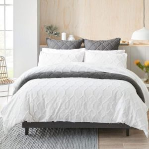MyHouse Hellie Quilt Cover Set Double