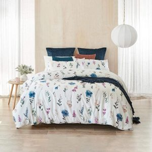 MyHouse Flora Quilt Cover Set King