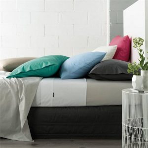 Remo Fitted Sheet Cotton Assorted Linen House
