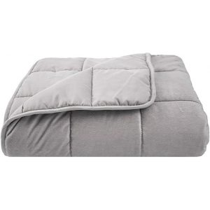 Weighted Blanket Polyester Grey Bambury