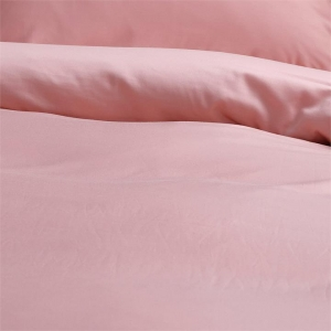 Canningvale Alessia Bamboo Cotton Quilt Cover Sets - Double, Rosa Gold