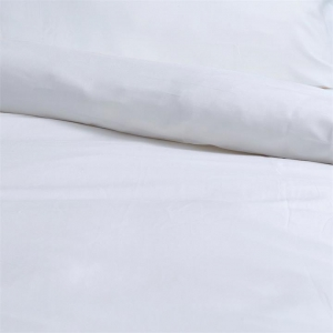 Canningvale Egyptian Royale Quilt Cover Sets - Double, Carrara White