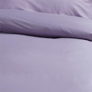Canningvale Egyptian Royale Quilt Cover Sets - Double, Misty Lavender