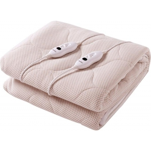 Copper Infused Quilted Top Electric Blanket Fabric Pink Dreamaker