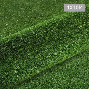 Primeturf Artificial Synthetic Grass 1 x 10m 10mm - Olive Green