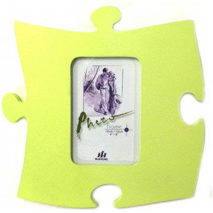 265mm Wall Puzzle Picture Photo Frame f/10x15cm Photography Green Pantone 584-4U