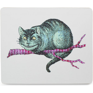 Mrs Moore's Vintage Store - Alice In Wonderland Placemat - Cheshire Cat