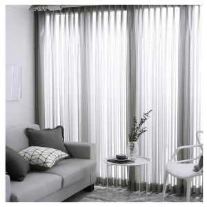 Madison Sheer Pinch Pleat Curtain Silver