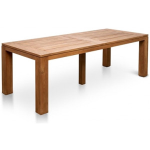 Bairo 1.8m Recycled Teak Outdoor Dining Table - Natural by Interior Secrets - AfterPay Available