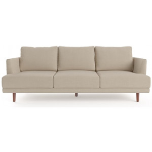Christoph 3 Seater Sofa French Beige