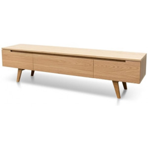 Hugo 1.8m Scandinavian TV Unit - Natural by Interior Secrets - AfterPay Available