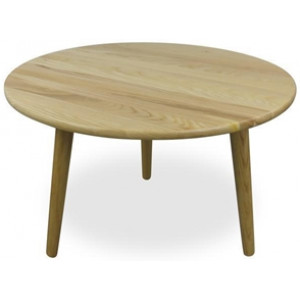 Jardin 66cm Round Coffee Table - Natural by Interior Secrets - AfterPay Available