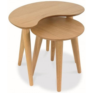 Johansen Nest of Side Tables - Natural by Interior Secrets - AfterPay Available