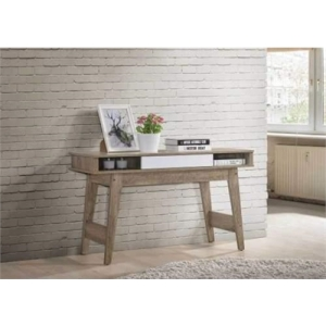 Nobu Hall Console Table - Natural / White
