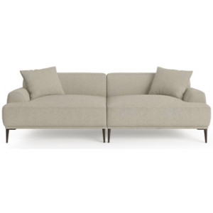 Seta 4 Seater Sofa Seashell White
