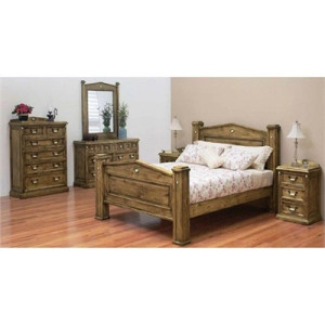 Suffolk Timber Bed Frame - Suite Options