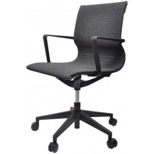 Pablo Office Chair- Grey by Interior Secrets - AfterPay Available