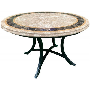 Saturn Marble Outdoor Dining Table