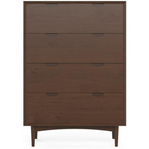 Ethan Large Chest of Drawers Chocolate Brown Beech