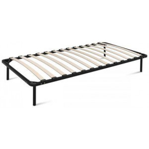 Single Size Metal Bed Frame - Black