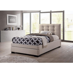 Bronte 2 Drawer Upholstered Bed Frame