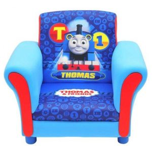 Thomas & Friends Kids' Upholstered Arm Chair - Blue