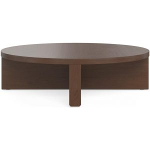 Henley Low Set Coffee Table Chocolate Brown