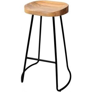 4x Vintage Tractor Bar Stools Retro Bar Stool Industrial Chairs 75cm