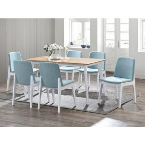 Finn Dining Sets | Hardwood Table & Chairs | 7 Pieces | Shop Online or Instore | B2C Furniture