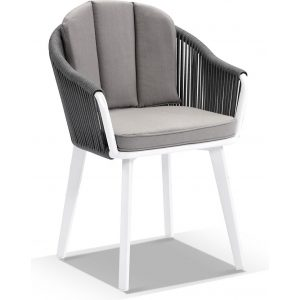 Alpine Outdoor Rope And Aluminium Dining Chair - Dining Chairs