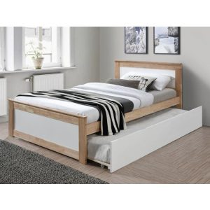 Coco Hardwood Toddler Single Bed with Trundle | Shop Online or Instore | B2C Furniture
