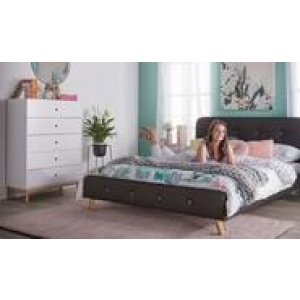 Buttons Double Bedroom Package With Toto Tallboy